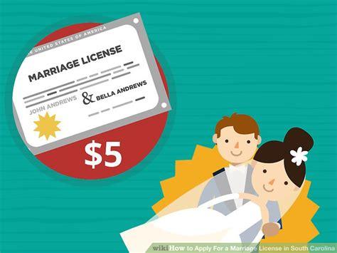 south carolina marriage license form how to apply for a marriage license in south carolina 12