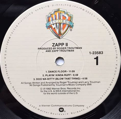 Zapp Floor Sle by Zapp Ii Big Division Records