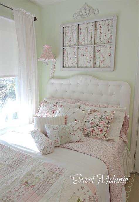shabby chic bedroom design  decor ideas