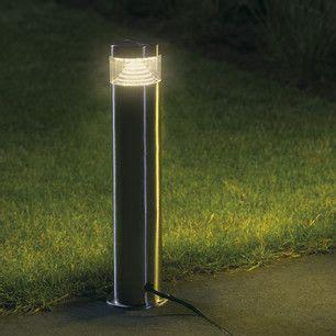 ls plus landscape lighting warm white led garden post bollard light bollard