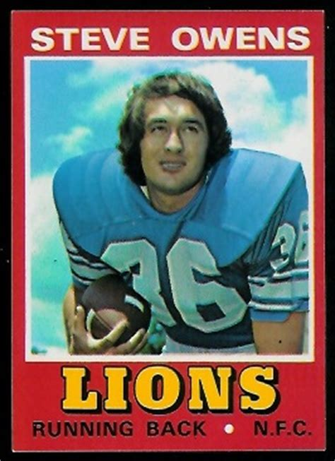 Steve Owens - 1974 Wonder Bread #28 - Vintage Football ...