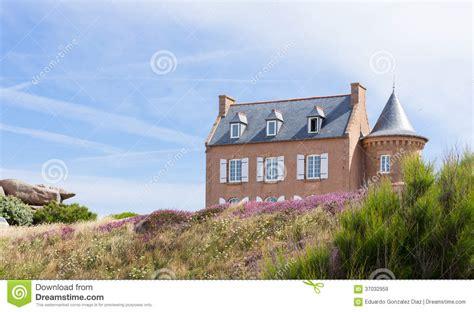 maison de la bretagne maison typique de la bretagne de fran 231 ais images libres de droits image 37032959