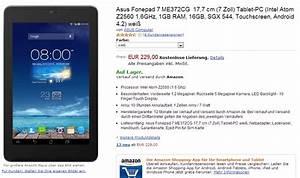 Rechnung Amazon Ag : asus phonepad 7 ab sofort in deutschland erh ltlich ~ Themetempest.com Abrechnung