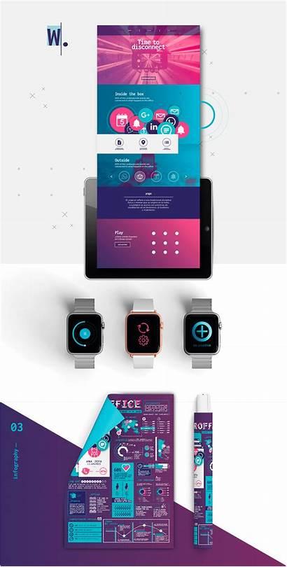 Technostress Behance Project