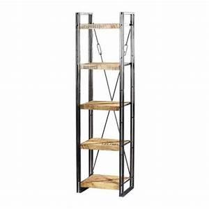 Regal 55 Cm Breit : etag re m tal et bois factory 5 niveaux mobilier ~ Bigdaddyawards.com Haus und Dekorationen
