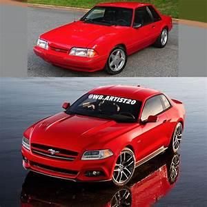 Ford Fox Body Mustang Gets Modernized, Pony Car Looks Happy - autoevolution
