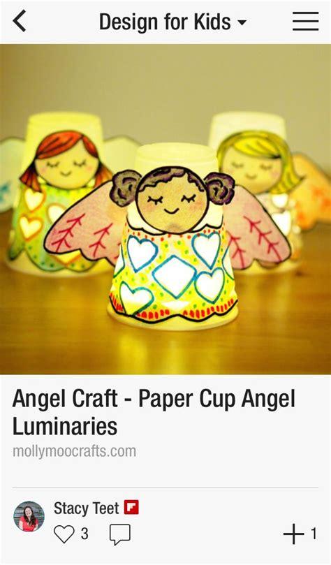 diy inspiration basteln engel teelichter aus trickbechern und karton diy inspiration basteln mit gefundenem