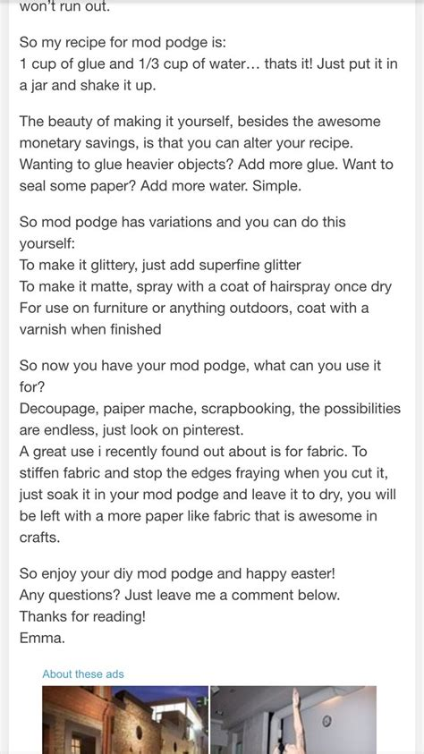 home  mod podge buy pva glue  bunnings  litres
