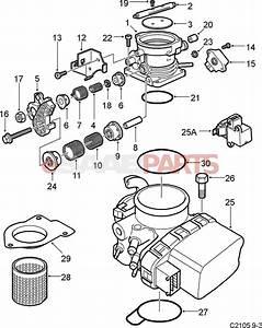 9166596  Saab Throttle Body