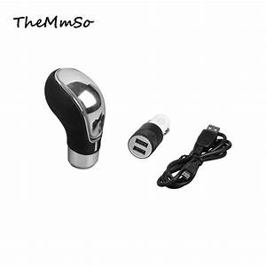 Led Touch Induction Lamp Manual Shift Gear Lever File To