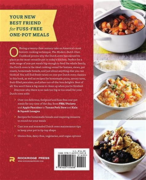 one pot oven meals modern dutch oven cookbook fresh ideas for braises stews pot roasts and other one pot meals