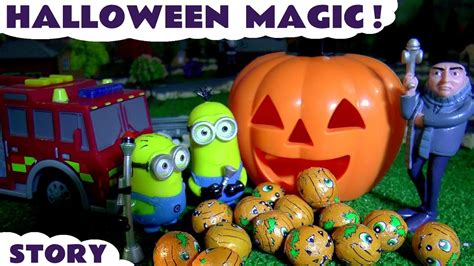 Halloween Minions Magic With Gru Thomas & Friends And