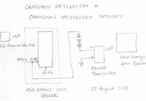 Craftsman Garage Door Sensor Wiring Diagram