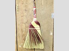 Kitchen and Parlor Brooms Laffing Horse