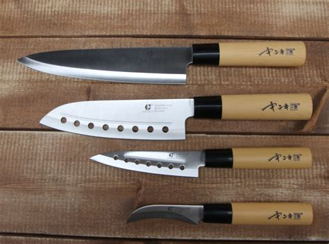 4pcs Chef Knives Set Cutlery Knife Japanese Home Kitchen