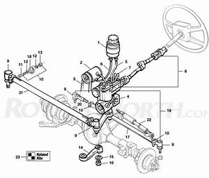 Discovery I Steering Column - Rovers North