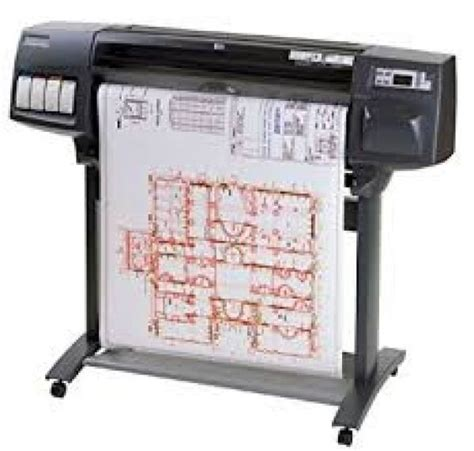 hp   wide format printer plotter ca blueprints