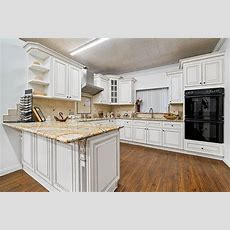 Antique White Kitchen Cabinets  Vintage Style  Rta