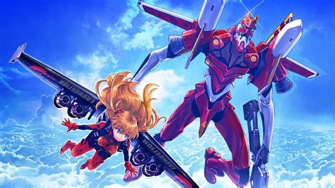 Wallpaper Anime Neon Genesis Evangelion Asuka Langley