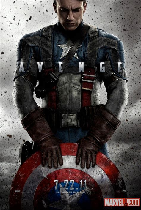 captain america poster3 captain america the avenger 2011 shut up and