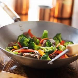 recette wok de boeuf au brocoli et aux poivrons facile