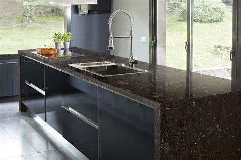 entretien plan de travail en granit poalgi eviers de cuisine de couleur en r 233 sine min 233 rale