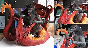 Werewolf vs Dragon - Final by NenadJones on DeviantArt