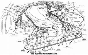 1967 Mustang Cluster Wiring Schematic  1967  Free