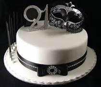 Elegant 21st Cakes Bir...