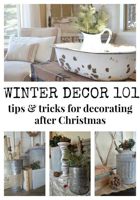 winter decor  blog hop decorating ideas winter
