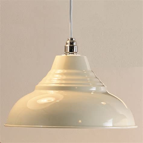 vintage metal pendant light shade