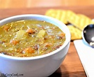 Mom's (best ever) Split Pea Soup - The Cozy Cook