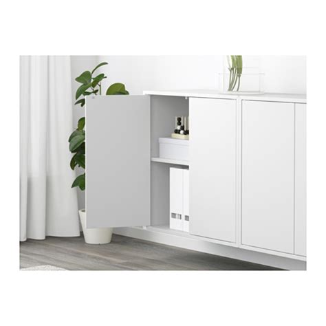 eket wall mounted cabinet combination white 175x25x70 cm