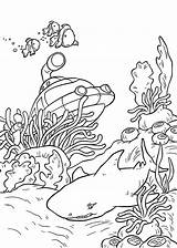 Underwater Coloring Pages Print sketch template