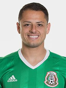 fifa confederations cup russia 2017 players javier hernandez fifa