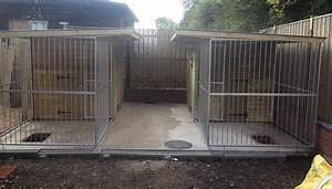 Insulated dog kennels and runs game rearing sheds and for Dog house and run