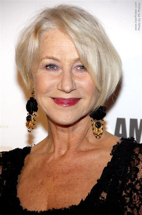 Helen Mirren   Trendy and rejuvenating haircut for 60 plus