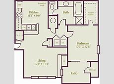 $1225 Snowberyy 1, 2 & 3 Bedroom Apartment Floor Plans in