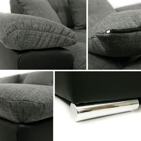 chloé design canapé canapé panoramique convertible microfibre clea design