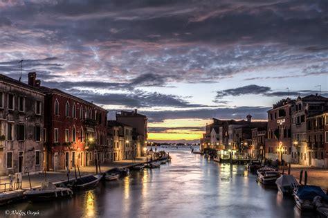 Venice Sunset Light Paintings