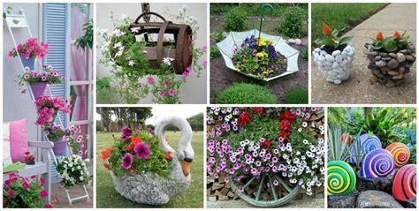 outdoor decorations diy 15 imposing diy garden decorations for creating original garden space top inspirations
