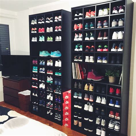 Sneakercloset Ikea Shelves Footwear Pinterest