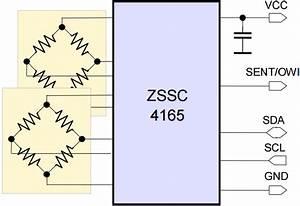Automotive Sensor Signal Conditioner For A Single