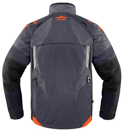 motorcycle riding gear 155 04 icon mens raiden dkr armored waterproof textile