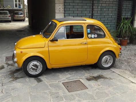fiat  giallo positano auto  moto depoca storiche