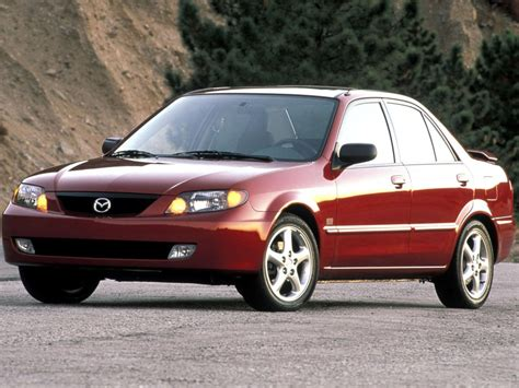 Mazda Protege Technical Specifications And Fuel Economy