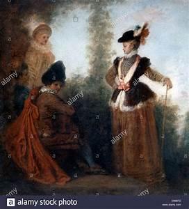 Leinwand Auf Englisch : die abenteurerin 1717 l auf leinwand der franz sische maler jean antoine watteau 1684 1721 ~ Eleganceandgraceweddings.com Haus und Dekorationen