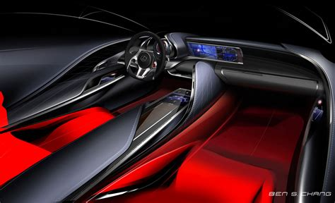lexus lc interior lexus lf lc concept interior rendering car body design