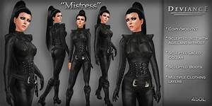 Second Life Marketplace - * Deviance * - Mistress in Black ...