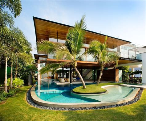 Million-dollar Home In Sentosa Cove